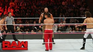 Braun Strowman vs. The Mile-High Trio: Raw, Oct. 17, 2016