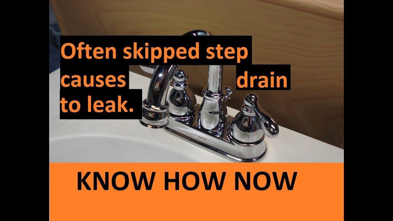 Sink Drain Replacement Solana Beach CA