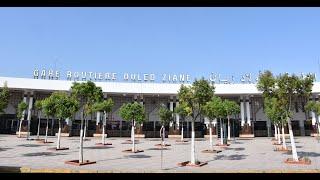 La Gare Oulad Ziane fait peau neuve pour recevoir les voyageurs