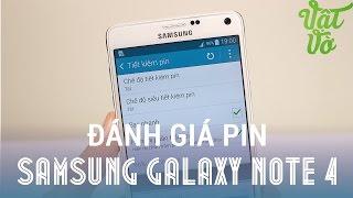 [Review dạo] Đánh giá thời lượng Pin Samsung Galaxy Note 4