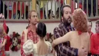 Bud Spencer & Terence Hill [Altrimenti ci arrabbiamo - 1974] Scena 2