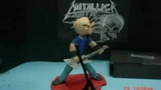Metallica claymation