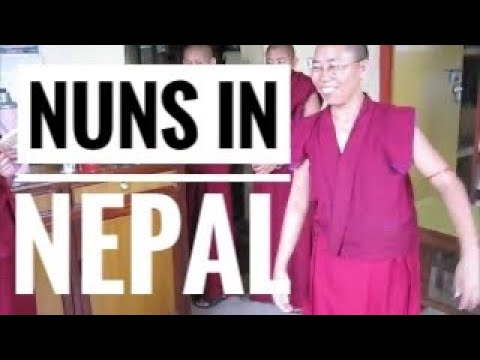 Nepal Nuns in Kathmandu