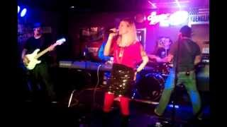 Kartune- Feat. Tara Hulko, first stage singing performance- I Love Rock and Roll- Chackos 3/8/13