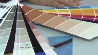 Escolha de cores de tinta - Programa Imóvel & Construção