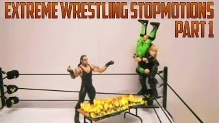 Download video: WWE Figures Stop Motion animation Part.2 Mattel
