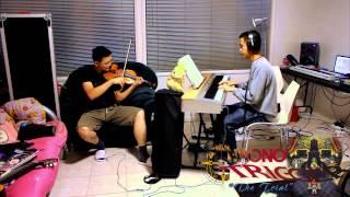 "Chrono Trigger ""The Trial"" Violin and Piano"