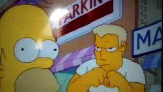 Homero parodia Intro Street Fighter II