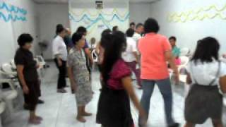 YOUFRA and SFO Sta. Ana dancing LA Walk - SFO 60th Anniversary (Oct.16'11)
