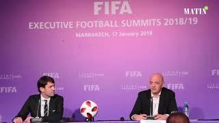 Gianni Infantino dresse un bilan positif du Sommets exécutifs du football de la Fifa
