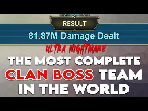 The Best UNM Clan Boss Team I Raid Shadow Legends