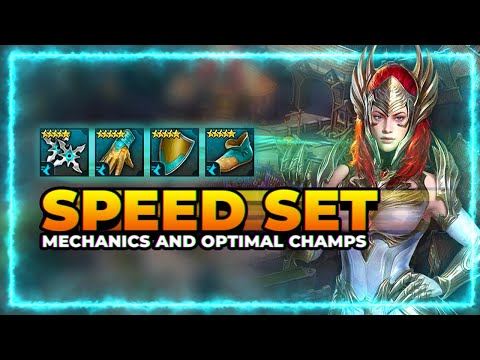 SPEED Set! | BEST In the Game! | Optimal Champs & Mechanics | RAID Shadow Legends