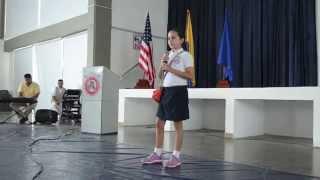 Isabella B (5th Grade) Cover de: 'Tu Mirada' Ha-Ash - ES Flag Ceremony