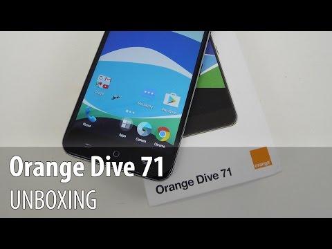 Orange Dive 71 Unboxing în Limba Română
