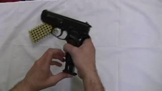 9 MM Blank Firing Replica Guns Automatic Blank Firing Demonstration - Knives Deal