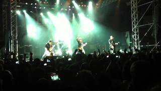 Alter Bridge live @ Palasesto 22 ottobre 2011 - Slip To The Void