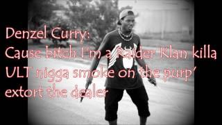 Denzel Curry Ft. Lofty 305,XXXTentacion,$ki Mask The Slump God - SpaceGhostPussy (Lyrics)