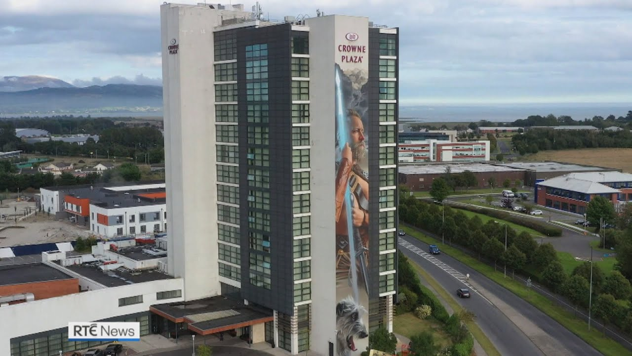 Ireland's Tallest Mural Unveiled in Co Louth
