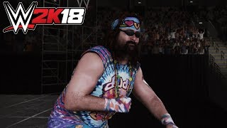 WWE 2K18 - Dude Love (Entrance, Signature, Finisher)