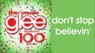 Glee - Don't Stop Believin' (Season 5 Version)