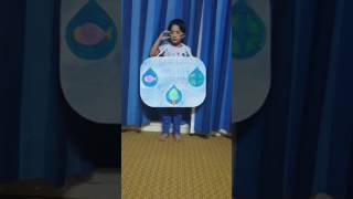 Show & Tell : Save water Save world