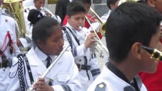 "I.E.P.""COLEGIO SANTA CATALINA JULIACA ""  banda sinfonica 2014"
