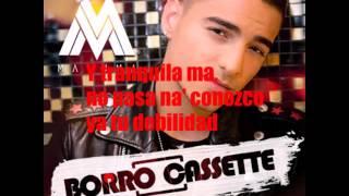 Maluma Borro Cassette Letra/Lyrics