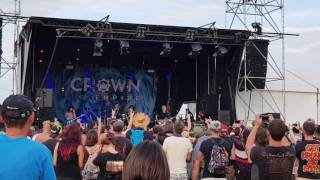 Crown The Empire - Are You Coming With Me Live @Download Festival Paris 2017