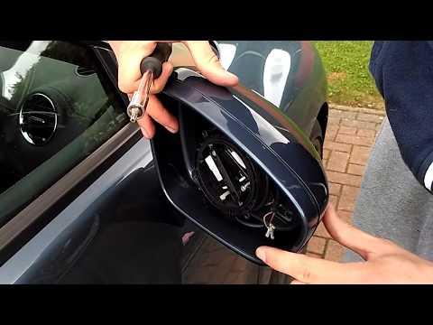 Peugeot RCZ door mirror creek fix - mirror removal and installation guide