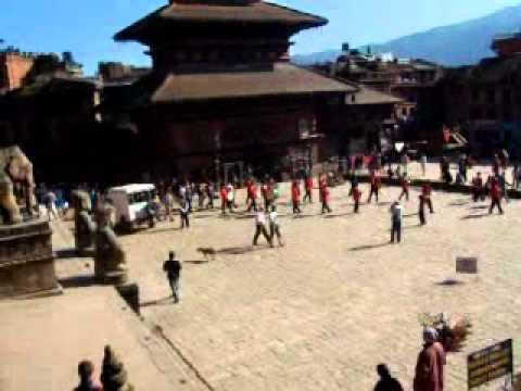 Taumadhi Tole, Bhaktapur, Kathmandu, Nepal