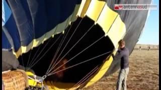Tg Antenna Sud - Precipita mongolfiera  al Balloon Festival