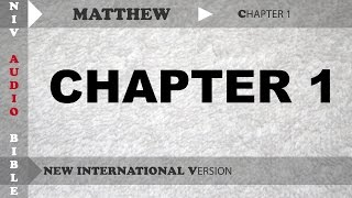 Holy Bible Audio NIV : Matthew Chapter 1 With English Subtitle  (New International Version )