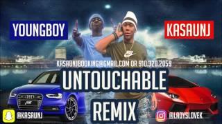 NBA Young Boy - Untouchable Ft. KaSaunJ (Remix)