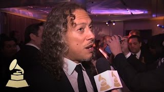 Kirk Hammett: Playing With Lang Lang Will Be Amazing | GRAMMYs