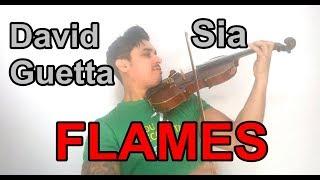 David Guetta & Sia - Flames by Douglas Mendes (Violin Cover)