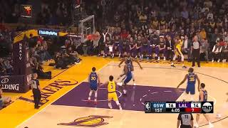 LA Lakers vs GS Warriors 1st Qtr Highlights   01 21 2019 NBA Season
