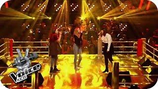 Ed Sheeran - Give Me Love (Lara, Chiara, Indra)   The Voice Kids 2016   Battles   SAT.1