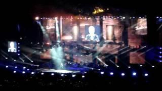 JOHNNY HALLYDAY Diego live Marseille stade Velodrome 11 juillet 2009 - tour 66