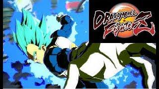 Dragon Ball FighterZ - Epic Super Saiyan Blue Vegeta Comeback!