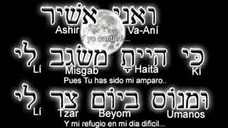 La Plegaria del angustiado, Tehilim 59:17