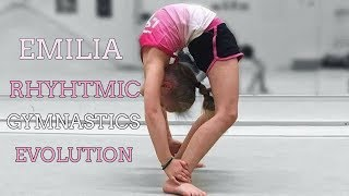 Emilia Rhythmic gymnastics evolution