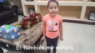 Valentina canta María Mirame