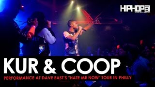 """Dave East Brings out Kur & Coop at his """"Hate Me Now"""" Tour in Philly"""