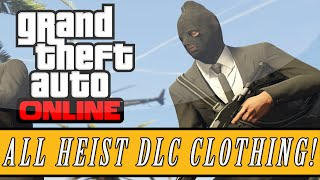 GTA 5 Heists | New Heist Outfits & Clothing Details - Chemical Suits, Night Vision Goggles & Masks!