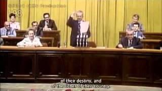 Ceausescu despre situatia economica mondiala din anii 80