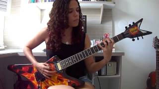Lamb of God - Redneck Guitar Cover (by Noelle dos Anjos)