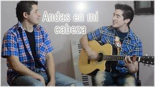 Gabriel Rodas - Andas en mi cabeza - chino y nacho cover guitarra