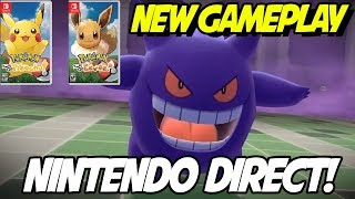 NEW! Lavender Town Gameplay and Nintendo Direct! Pokemon Let's Go Pikachu and Eevee!