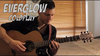 Everglow - Coldplay - Acoustic Guitar Cover (Dax Andreas) + FREE TAB