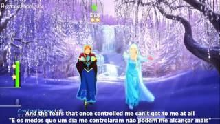 #52 Let It Go - Frozen -- Aprenda Ingles Com Musica.